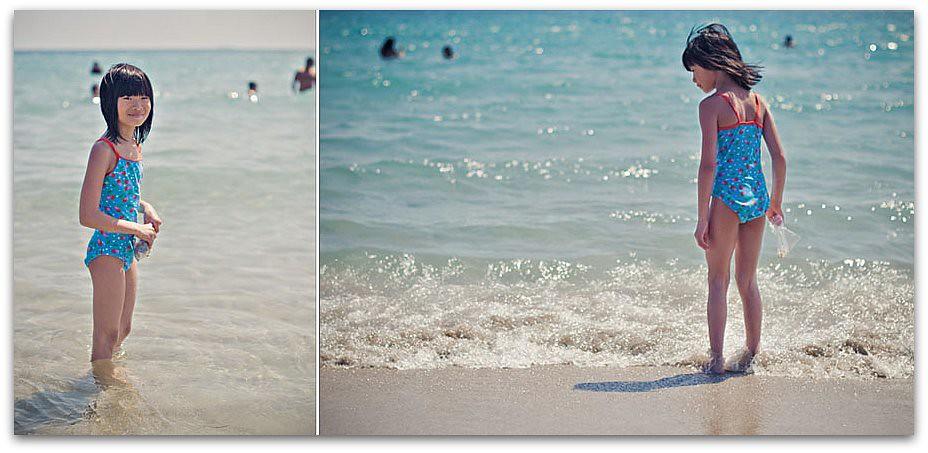 Diptych Grace ocean