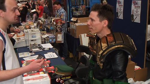 Dredd Man - Kapow Comic Con 2011