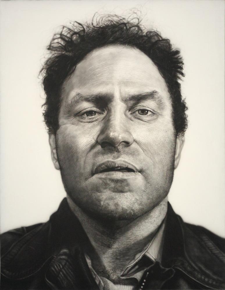 Chuck Close, Richard (Serra), 1969