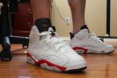 WDYWT 4-10-11 (Never Wear Them) Tags: red 6 white air bulls nike jordan infrared vi infared