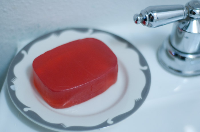Pink soap!!