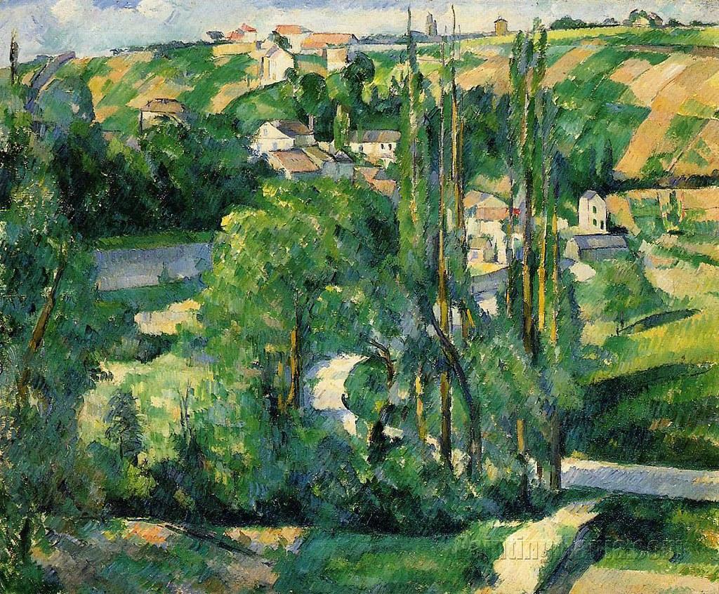 Rue de la côte-du-Jalet, Pontoise (P Cézanne - R 410)