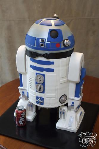 R2-D2 Groom's Cake