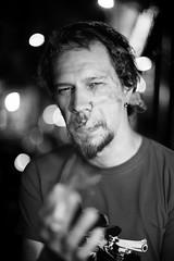 smoke out (Fabio McCaree) Tags: madrid portrait spain nikon 12 nikkor 50 2011 maku d700 sb900 drmaku
