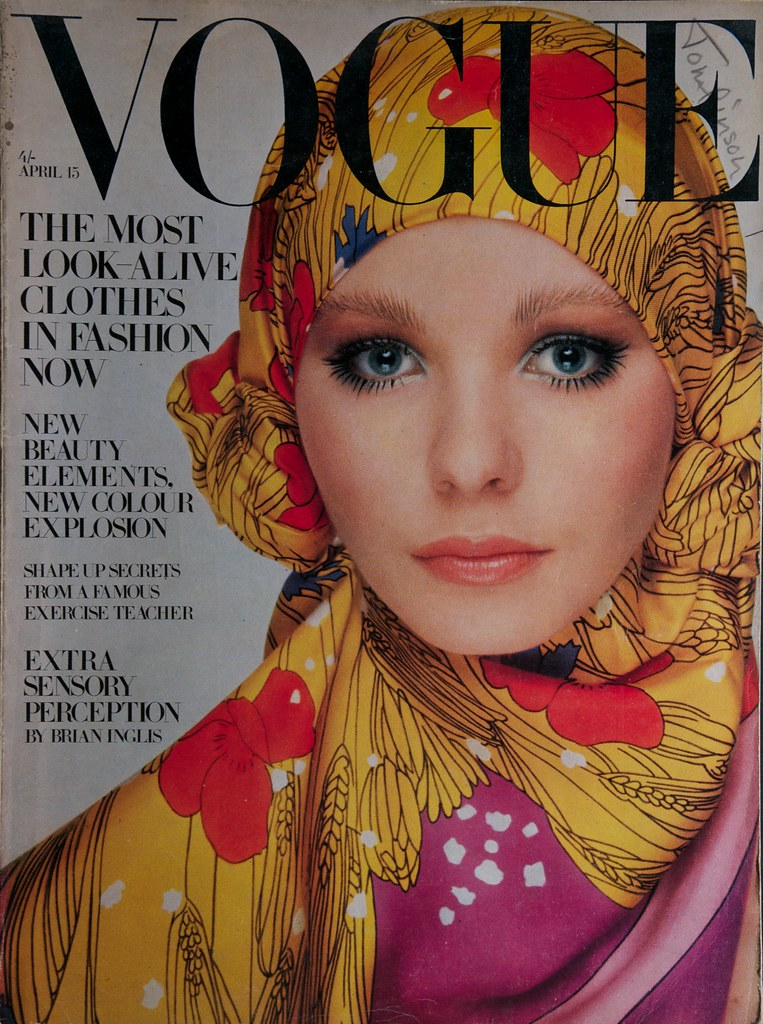 The world 39 s best photos of 1969 and vogue flickr hive mind for Moda vintage