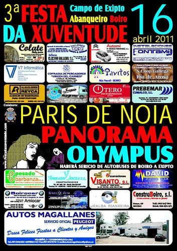 Boiro 2011 - Festa da Xuventude en Abanqueiro - cartel
