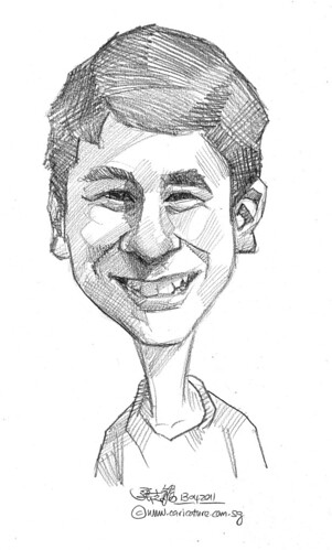 caricature in pencil - 61