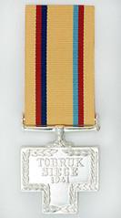 Tobruk 1977 Medal