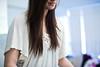 HAHA, (my selected memories-between east & west) Tags: portrait white girl longhair hide noface