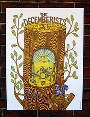 Tugboat Printshop // The Decemberists (Tugboat Printshop) Tags: print thedecemberists printmaking woodcut woodblock reliefprint bandposter affordableart tugboatprintshop traditionalprintmaking colorwoodblock woodblockposter stumpposter