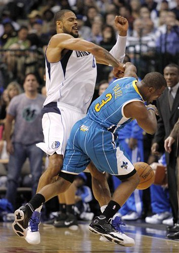 Hornets Mavericks Basketball