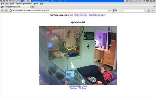 London Hackspace Webcam