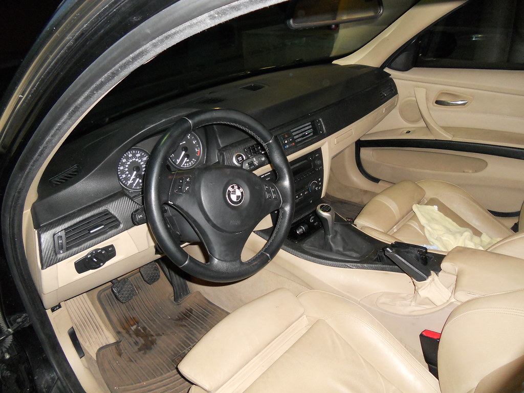Beige Interior + CF Wrap Trim