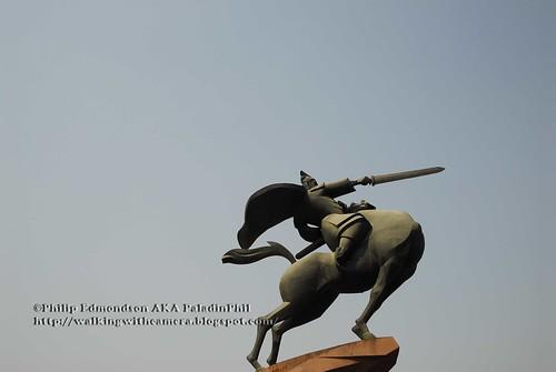 Emperor Qin Shi Huang Statue