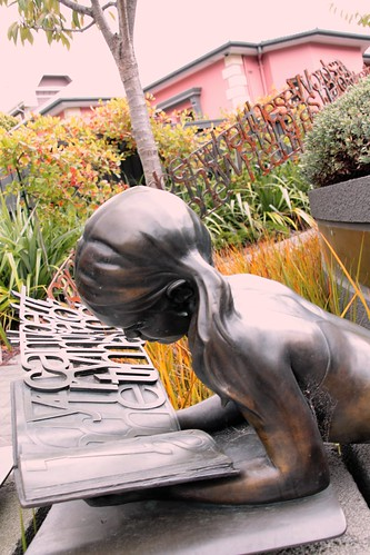 Sculpture at the Dyslexia Discovery Centre