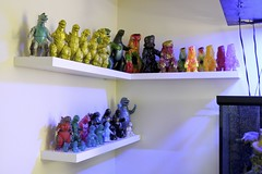 project of the day: mount & fill shelves (Crab Rangoon) Tags: life gold m1 vinyl godzilla prize limited ringtoss mothra minis gojira gid marmit hedorah sofubi marusan bearmodel sofvi softvinyl gigabrain sofvilife pilotace