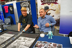 Kapow! Comic Con : Artist Dan Lish & Dan  Willett bring their Cartigan Monster Hunter to Kapow! by Craig Grobler