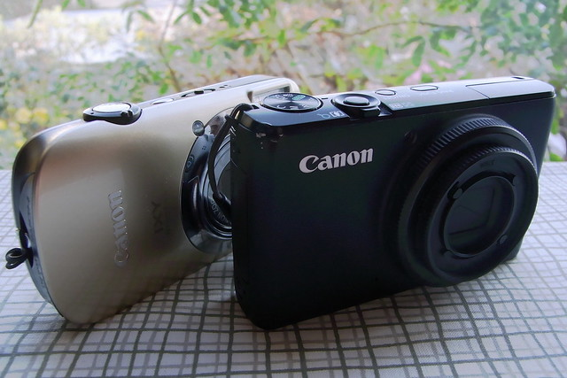 Canon S95 and Ixy 510 IS