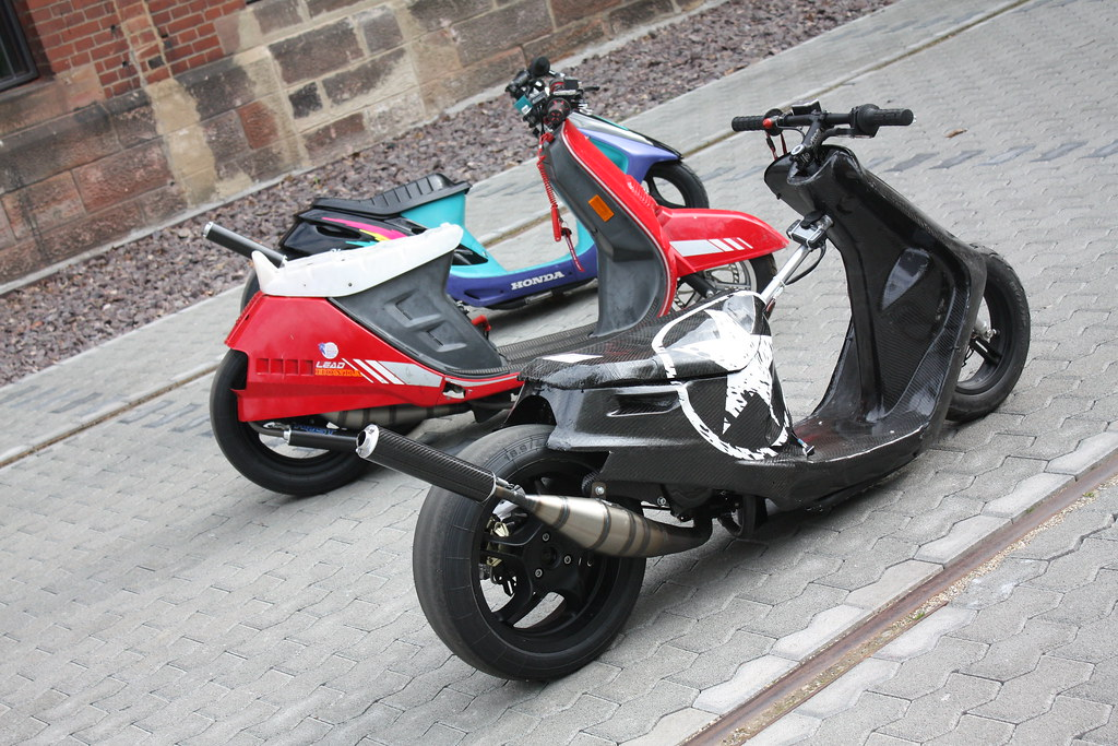 STT] Honda Lead - das hässliche Entlein - SCOOTERTUNING - Roller ...