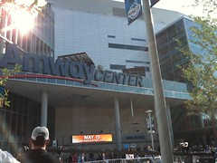 Outside the Amway before Game 1 (msnguy81) Tags: basketball orlando downtown florida arena nba downtownorlando amway centralflorida orlandoflorida nbaplayoffs nbabasketball amwaycenter