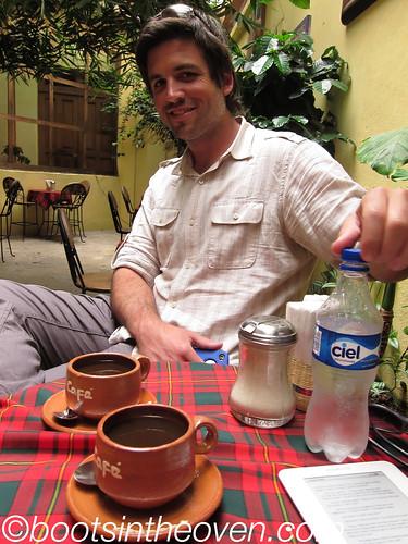 Logan and cafe de olla