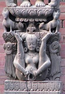 Lajja Gauri.Katmandu Durbar square