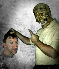 D (108) (Duncan Knifton) Tags: skull selfportraits project365 2011yip