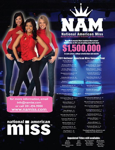 NAM Pageantry Magazine Ad
