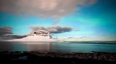 Kirkjufell (Kenny Muir) Tags: west stars landscape lights iceland nightscape northern peninsula kirkjufell borealis snfellsnes grundarfjrur auroral grundarsfjordur