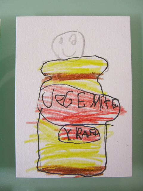 Vegemite Guy by Luca (age 6)