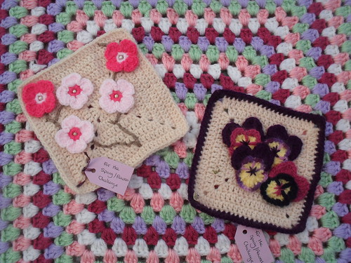 Pretty Flower Squares from Kianie. Gorgeous Thank You!
