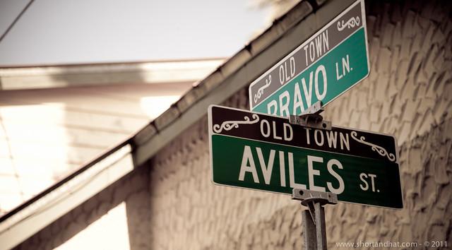 Aviles Street: oldest street in US