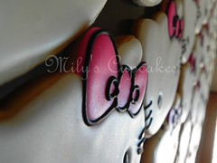 Cookies (Mily'sCupcakes) Tags: pink argentina cookies souvenirs cupcakes buenos aires towers kitty sanrio packaging milys