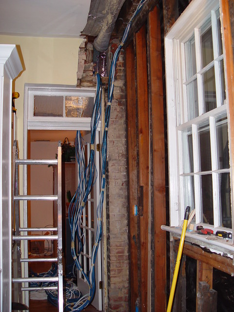 House Geek Structured Wiring Technology Overkill Old Town Home