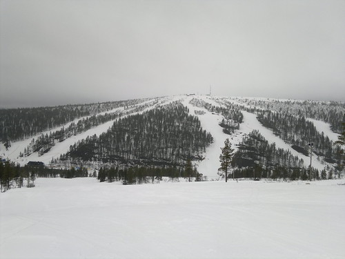 Alpine skiing in Saariselkä