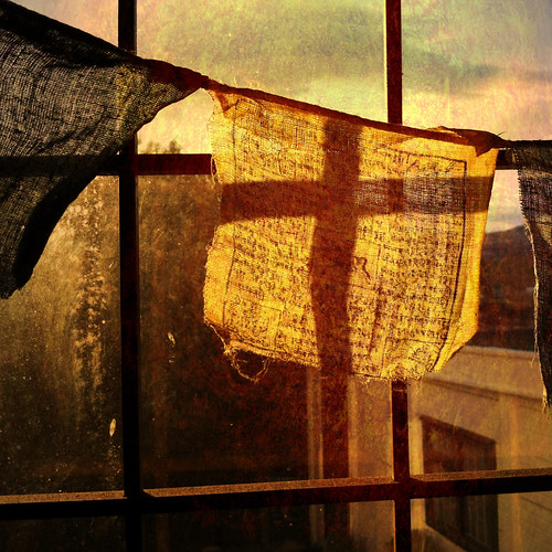 prayer flag by Frames-of-Mind