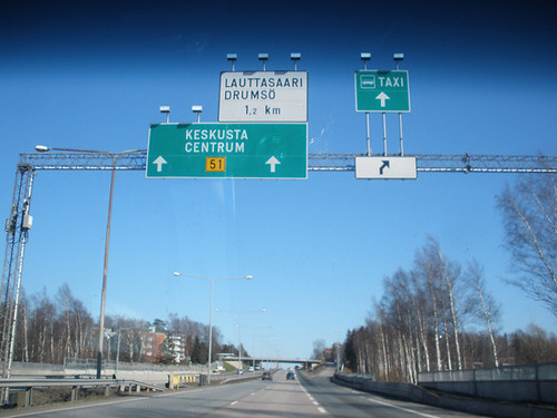 Arriving in Lauttasaari