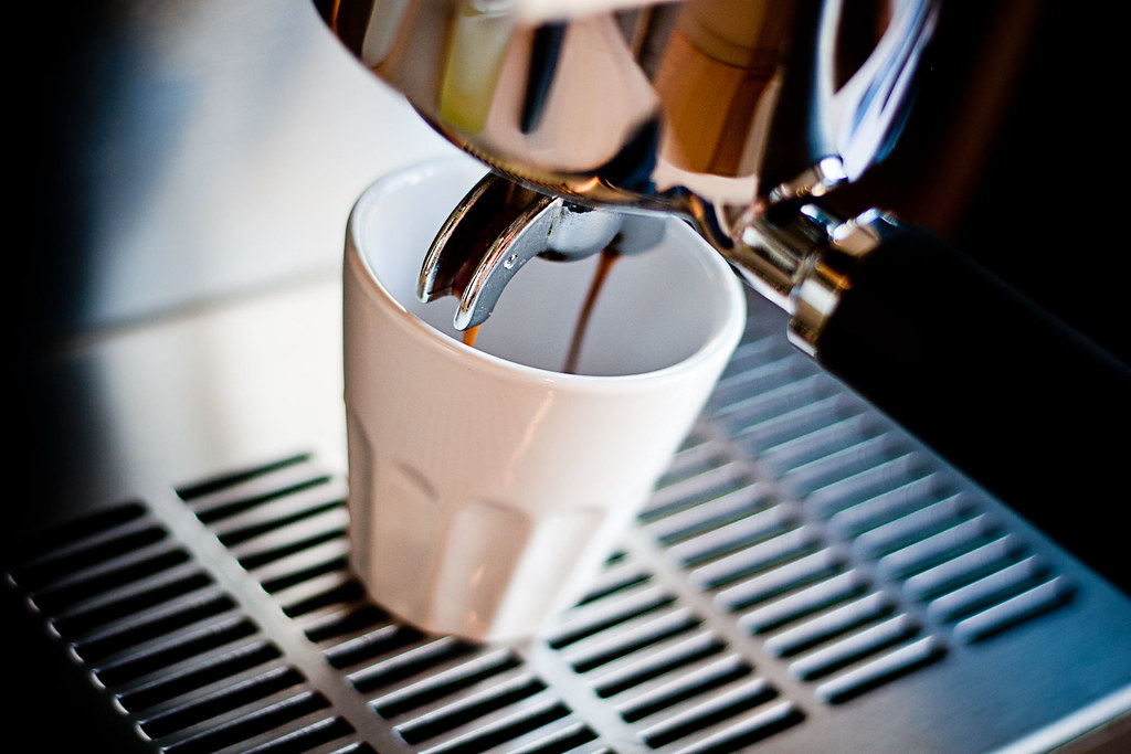 Espresso med Ascaso Steel Uno