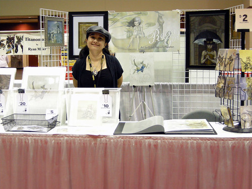 My booth at Megacon