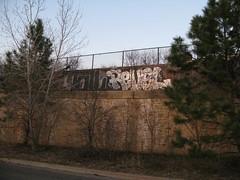 Toil * Revel (All You See) Tags: urban art minnesota graffiti midwest stpaul minneapolis urbanart spraypaint twincities revel toil illegalart