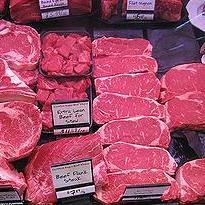 美國市售生肉品,可能遭到抗藥性菌感染。圖片節錄自:Winfried Mosler相本。