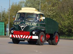 353 RTU 1961 Foden S.21  Poplar Services (wheelsnwings2007/Mike) Tags: road poplar cheshire run services 1961 s21 353 foden 2011 rtu