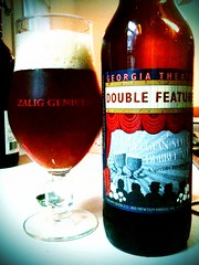 Bottle of Terrapin Dubbel Feature Belgian style ale