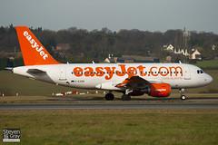 G-EZDB - 3411 - Easyjet - Airbus A319-111 - Luton - 110224 - Steven Gray - IMG_9931