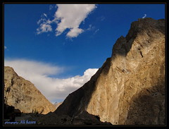 Beautiful Pakistan (Alee_hasan) Tags: blue pakistan mountains nature kkh hunza alihasan gojal northernareaofpakistan colorsofpakistan aleehasan hiddenbeautyofpakistan