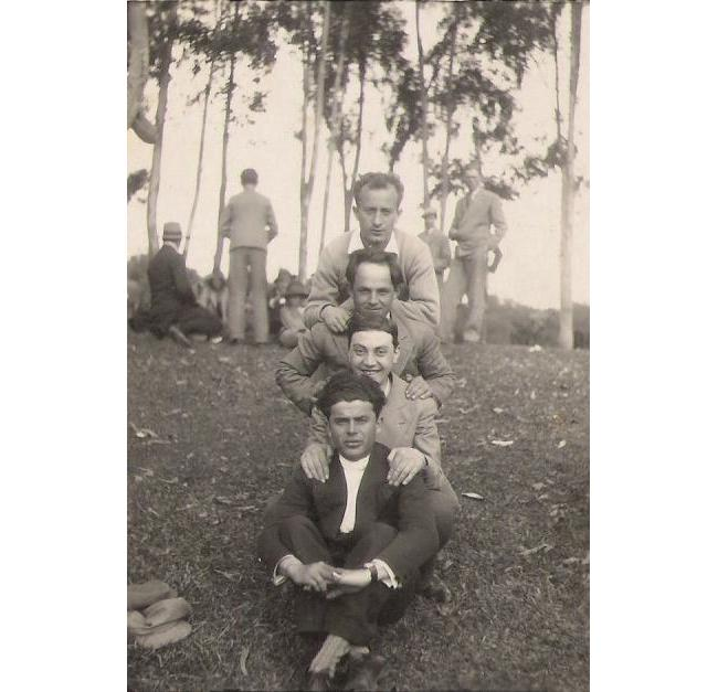 my grandfather (first one at the front)