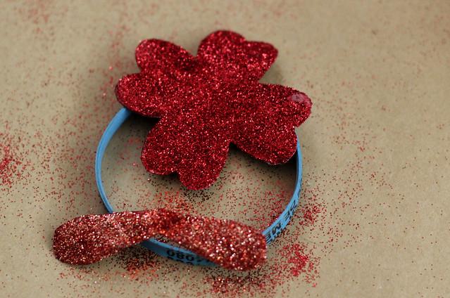 Drying Glitter