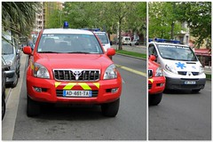 Ambulance car.. (Mike-Lee) Tags: france mike collage nice jill picasa ambulance nicetrip april2011