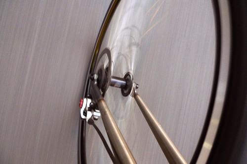 TETZ-ONE front disc brake.