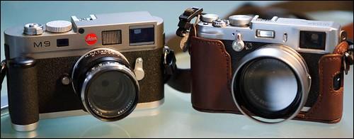 Fuji X100 Leica M9 Zeiss 50mm f/2 Planar T*